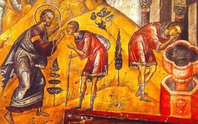 Dacă-i vom cere să-L vedem, Hristos va face să cadă solzii păcatelor de pe pleoapele inimii