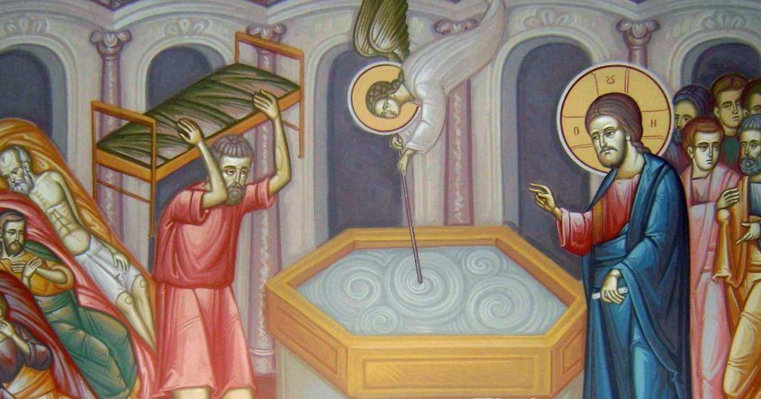 Gânduri de carantină – vindecarea slăbănogului de la Vitezda
