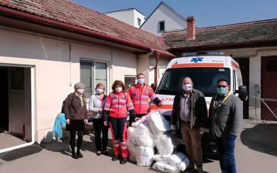 Acțiuni umanitare în Protopopiatul Gherla, în timpul pandemiei