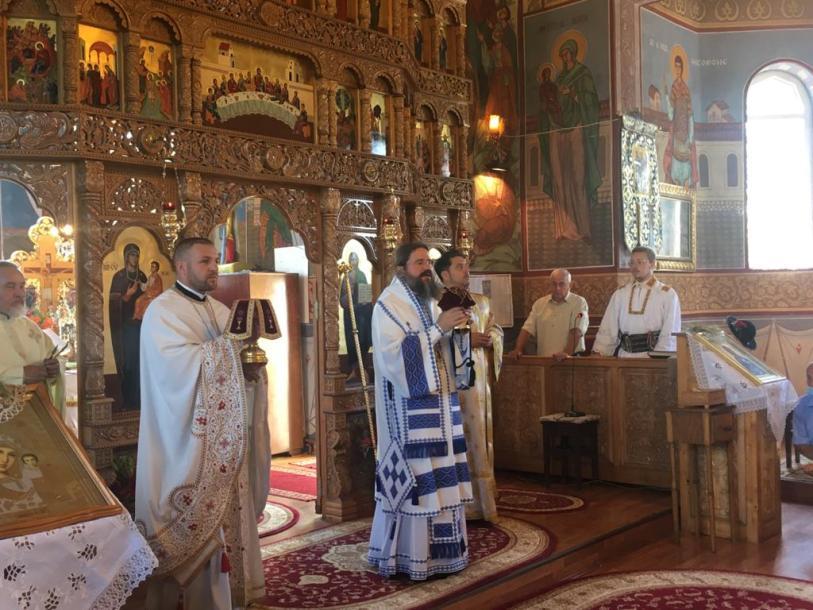Episcopul Europei de Nord, prezent în parohia Sânmărghita, Protopopiatul Dej
