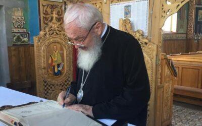 Vizită de lucru a Părintelui Mitropolit Andrei, în Protopopiatul Dej