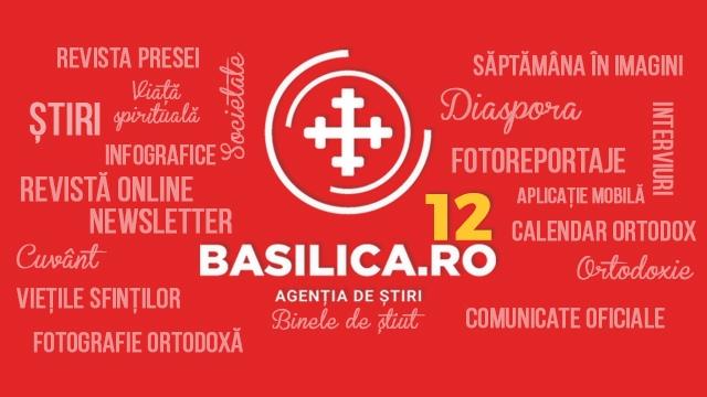 Basilica.ro, la 12 ani de activitate | Mitropolitul Andrei a transmis un mesaj de felicitare