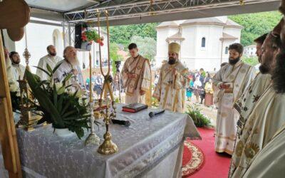 """Hramul Așezământului de copii """"Sfântul Onufrie cel Mare"""", sărbătorit în prezența PS Benedict Bistrițeanul"""