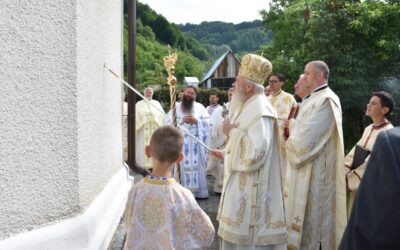 Resfințirea Bisericii din Bichigiu, satul natal al Sfântului Atanasie Todoran