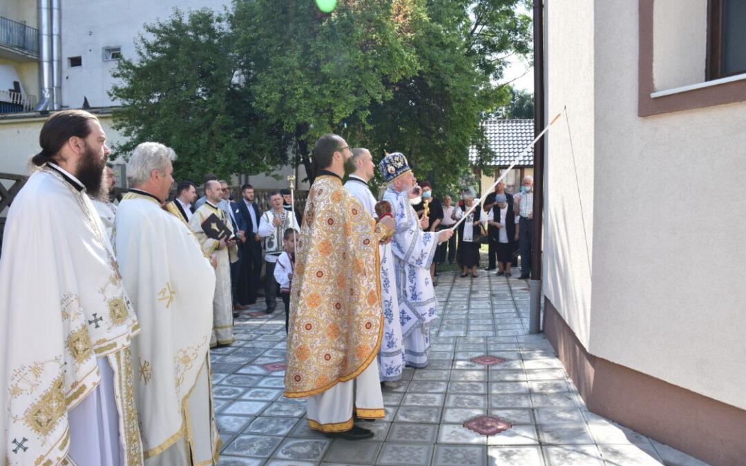 """Resfințirea Bisericii """"Intrarea în Biserică a Maicii Domnului"""" din cartierul clujean Cordoș"""