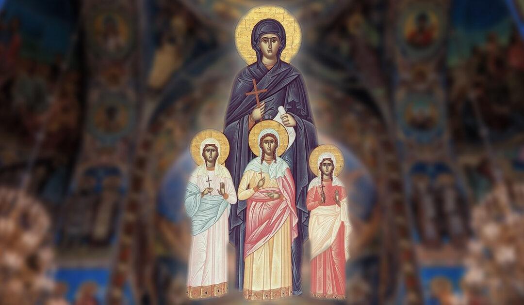 Sfânta Sofia, modelul mamelor creștine