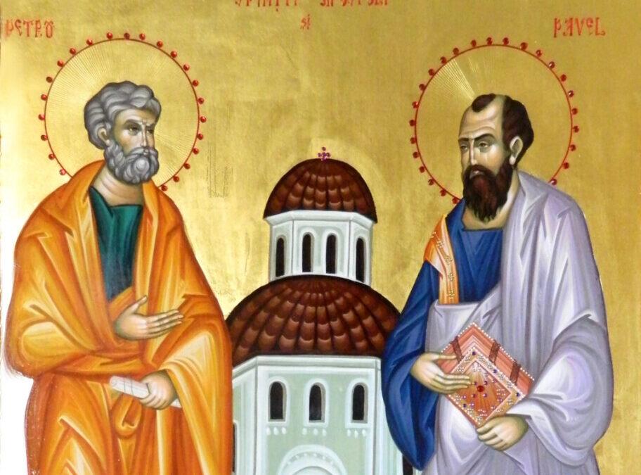 Agenda ierarhilor din Mitropolia Clujului, la sărbătoarea Sfinților Apostoli Petru și Pavel