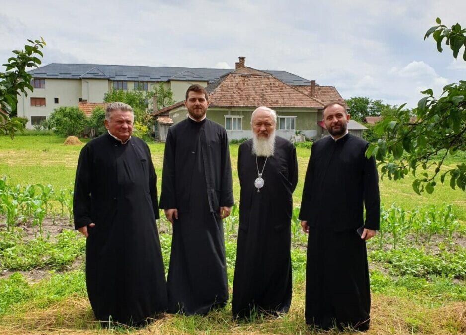ÎPS Părinte Andrei, în vizită de lucru la Jucu şi Răscruci