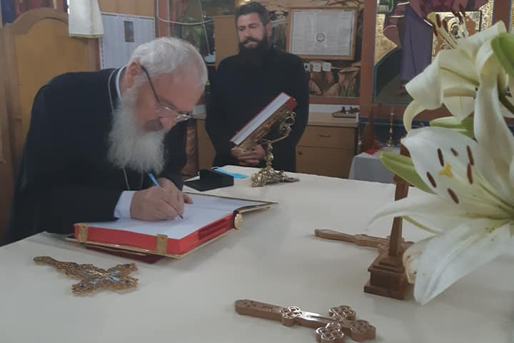 Părintele Mitropolit Andrei, în vizită de lucru în Protopopiatul Cluj I