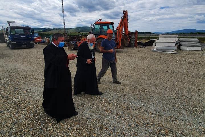 Înaltpreasfințitul Părinte Andrei, în vizită de lucru  pe Valea Bârgăului