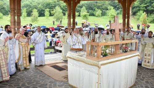 Sfântul Proroc Ilie, ocrotitorul spirtual al Mănăstirii Nușeni, sărbătorit în prezența Mitropolitului Andrei