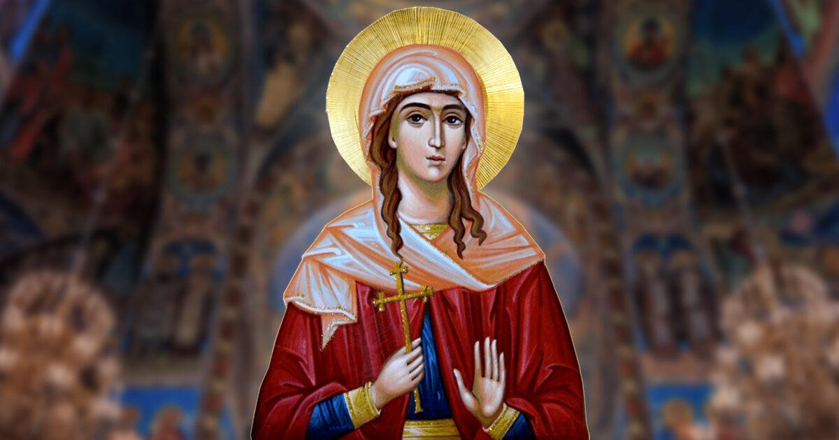 Sfânta Muceniță Lucia, protectoarea vederii şi a oftalmologilor
