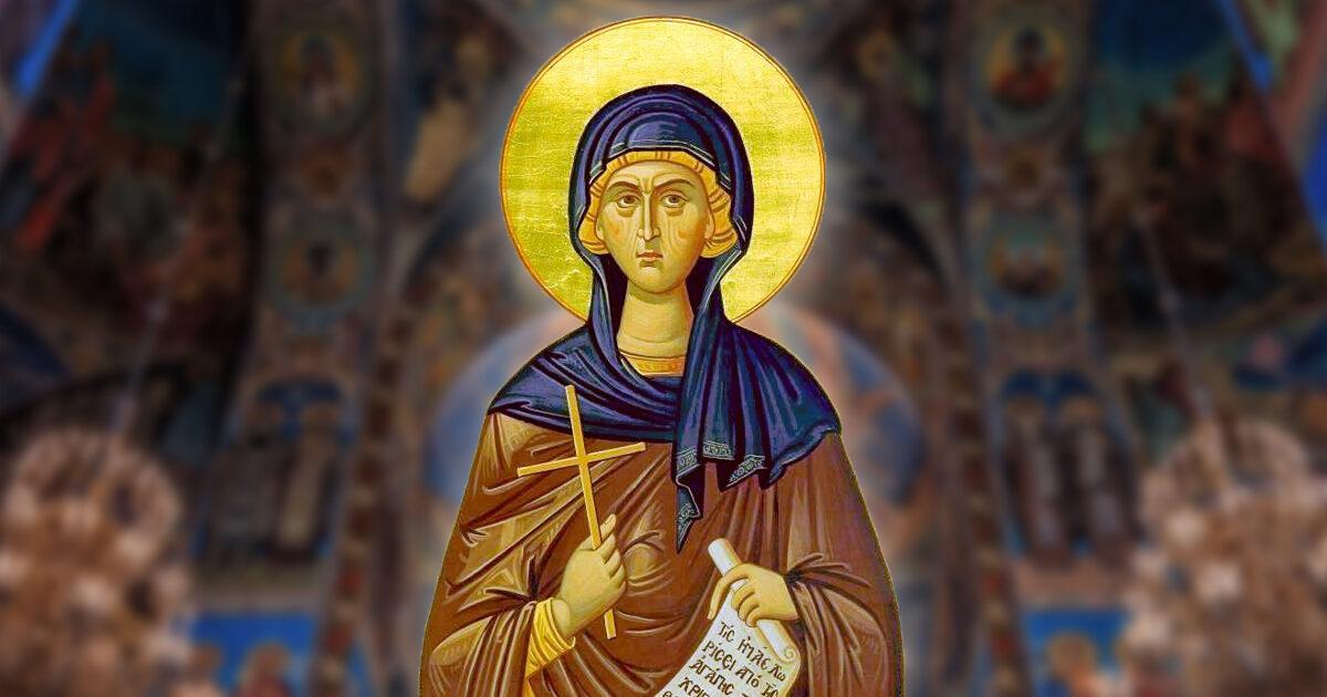Sfânta Macrina, ocrotitoarea orfanilor