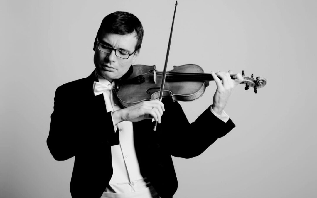 Violonistul Alexandru Tomescu va concerta în Piața Unirii din Cluj-Napoca