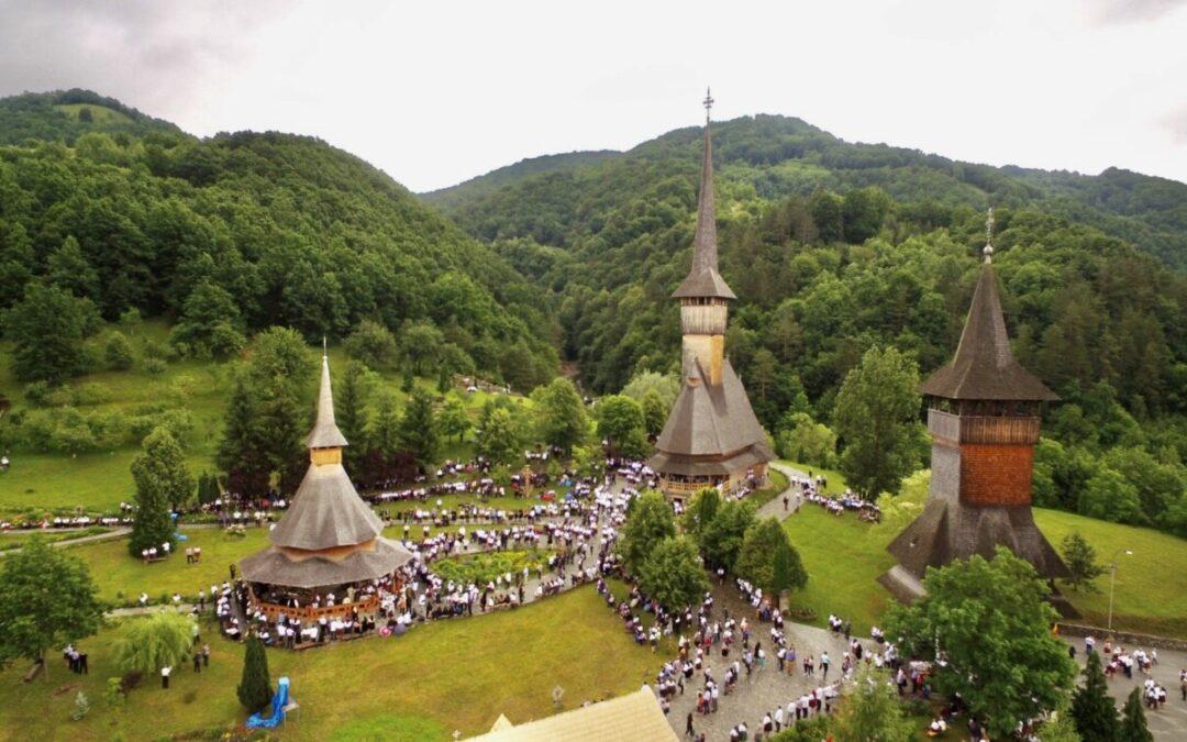 Zi de sărbătoare la Mănăstirea maramureșeană Bârsana
