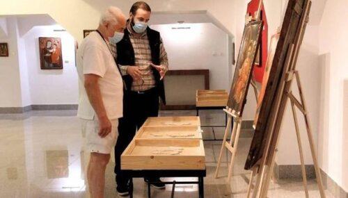 Compozitorul Eugen Doga a încântat vizitatorii Muzeului Mitropoliei Clujului