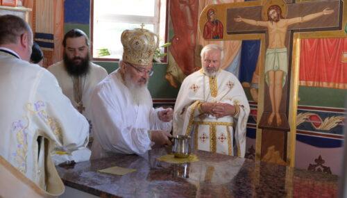 Biserica din Șendroaia a fost târnosită de Înaltpreasfințitul Părinte Andrei