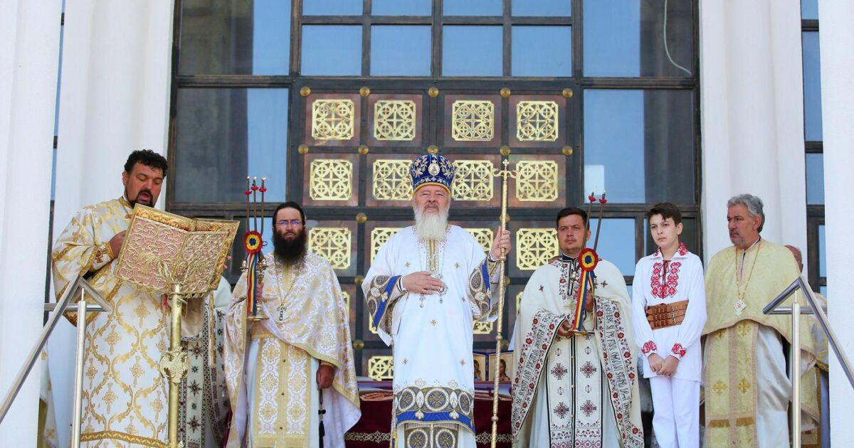 Mitropolitul Andrei a oficiat astăzi Sfânta Liturghie în urbea Clujului