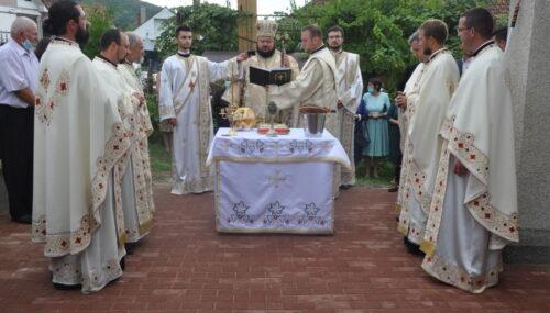 Biserica din parohia Turbuța, târnosită duminică de Episcopul Sălajului
