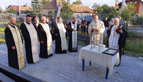 Capela mortuară și casa parohială din Jucu Gară, binecuvântate de Mitropolitul Clujului