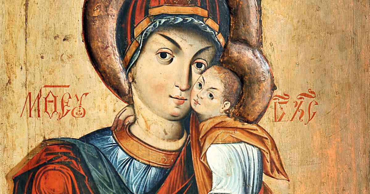 Icoana Maicii Domnului de la Catedrala Mitropolitană din Cluj
