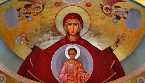 Maica Domnului, stâlp al credinței