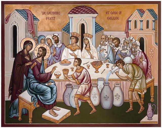Maica Domnului, mijlocitoare pentru noi la Fiul ei