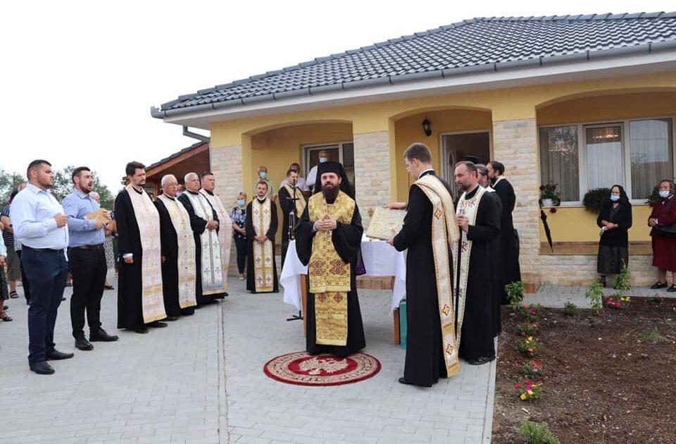 Episcopul Benedict Bistrițeanul a așezat casa parohială din Jucu de Jos sub oblăduirea și binecuvântarea lui Dumnezeu