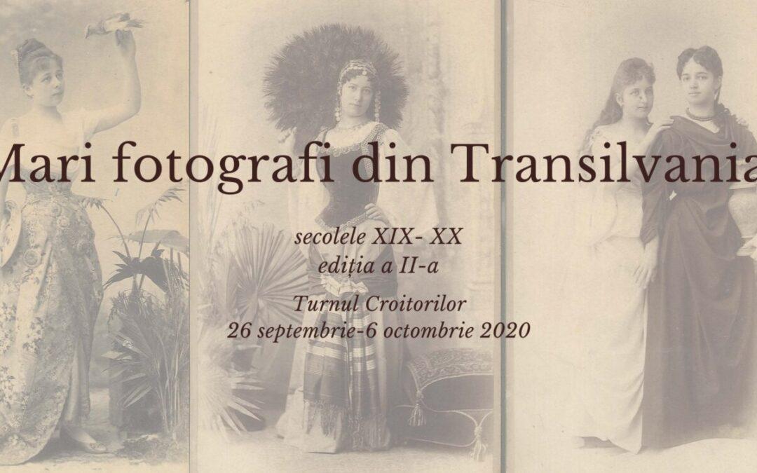 Fotografii ale unor fotografi remarcabili care au activat în Transilvania în sec. XIX- XX, expuse la Cluj-Napoca
