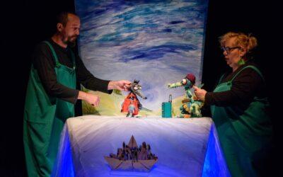"""Pinocchio și Lupul interzis, eroii spectacolelor de la Teatrul """"Puck"""" în weekend"""