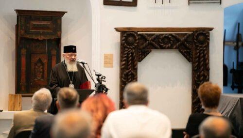"""Mitropolitul Andrei, la Simpozionul """"Moții-făuritori de istorie națională"""": Să ne aducem aminte de Avram Iancu și de apoftegma sa: """"Unicul dor al vieții mele este să-mi văd națiunea fericită"""""""