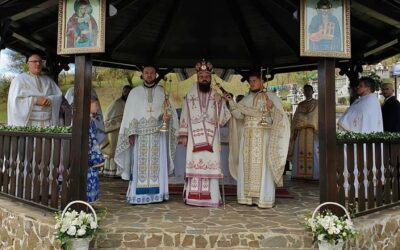 Lucrările de renovare efectuate în Parohia Codor, binecuvântate de PS Benedict Bistrițeanul