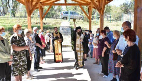 Noua capelă mortuară din Dăbâca, binecuvântată de Preasfințitul Benedict Bistrițeanul
