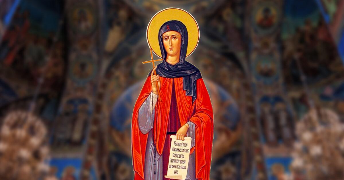 Cuvioasa Teodora de la Sihla, model de iubirea deplină pentru Hristos