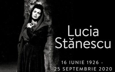 Soprana Lucia Stănescu, pe drumul veșniciei