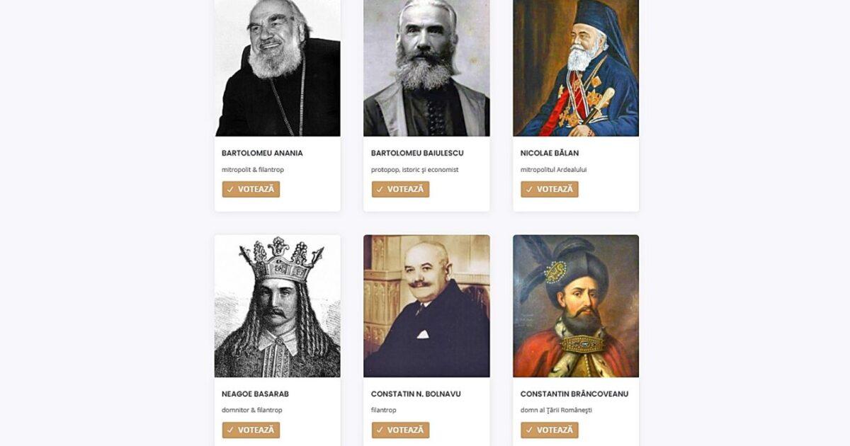 """Arhiepiscopia Sibiului a lansat Campania națională """"10 mari filantropi"""""""