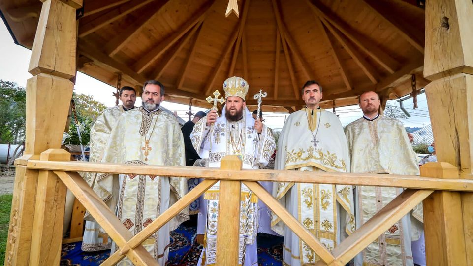 Târnosirea bisericii din parohia Vișeu de Jos I