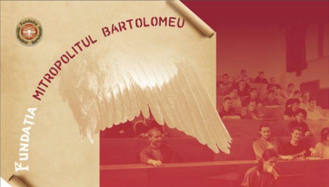 """Fundaţia """"Mitropolitul Bartolomeu"""" oferă 34 de burse studiu pentru anul şcolar şi universitar 2020-2021"""