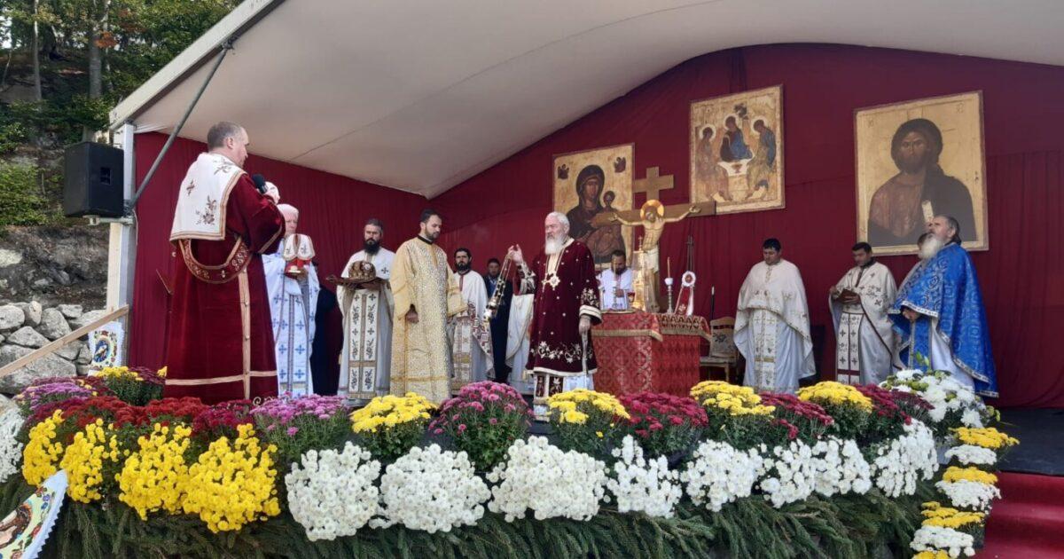 """Hramul Mănăstirii """"Petru Rareș Vodă"""" din Ciceu-Corabia"""