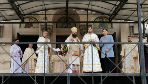 Episcopul-vicar Benedict a liturghisit la Catedrala Mitropolitană din Cluj-Napoca și a hirotonit un diacon