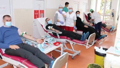 Preoții din Protopopiatul Ortodox Cluj 1 au donat sânge