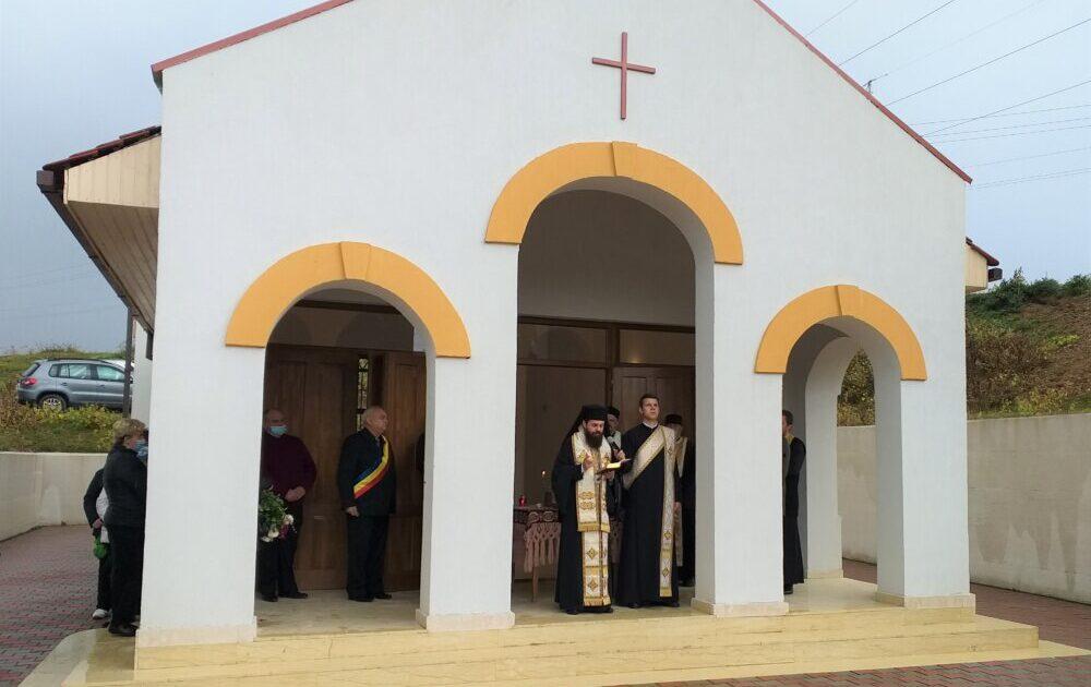 Capela mortuară din Someșu Rece, sfințită de Episcopul-vicar al Arhiepiscopiei Clujului