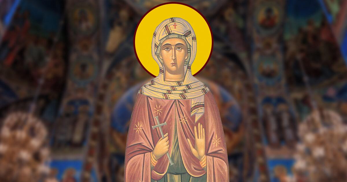 Sfânta Muceniță Paula, model de iubire a aproapelui