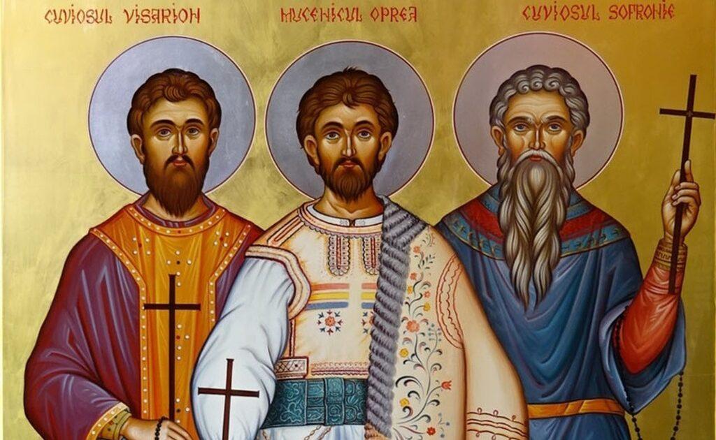 Sfinții CuvioșiI Visarion Sarai, Sofronie și Sfântul Mucenic Oprea – Mărturisitori români pentru credința ortodoxă din Ardeal