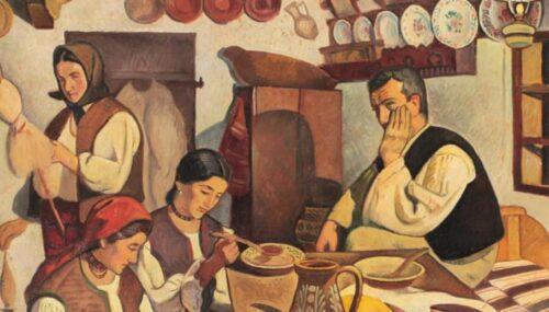"""""""Pictură tradițională din Transilvania și Banat, în colecția pr. prof. Ioan Bizău"""", vernisată la Muzeul de Artă"""
