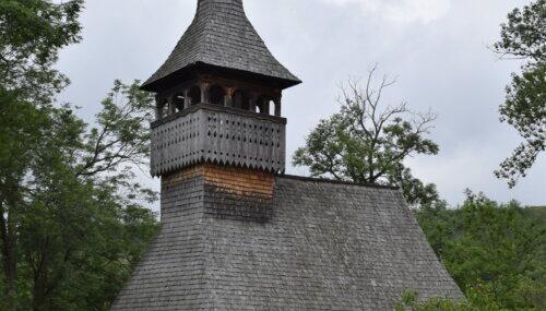 Biserica de lemn, monument istoric de secol XVIII, din localitatea clujeană Bica