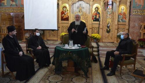 """Prof. Adrian Opre către preoții clujeni: """"Să ne asumăm împreună lucrarea pentru binele și folosul omului"""""""