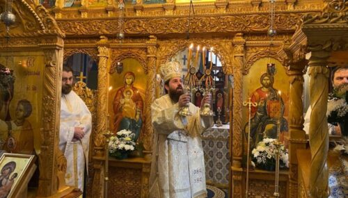 Intrarea în biserică a Maicii Domnului, sărbătorită la Mănăstirea Cormaia
