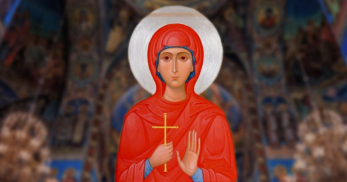 Sfânta Muceniță Ștefanida, Ștefania sau Corona, ocrotitoarea de pandemii