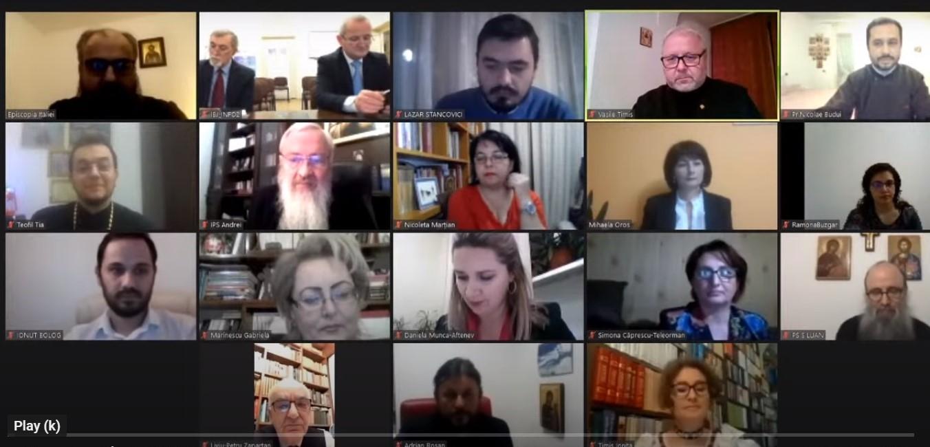 """Înaltpreasfințitul Părinte Andrei, la dezbaterea online """"Educația religioasă la începutul secolului XXI între provocări și perspective"""""""